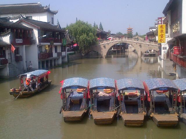 Qibao Watertown in Shanghai by Colin Speakman