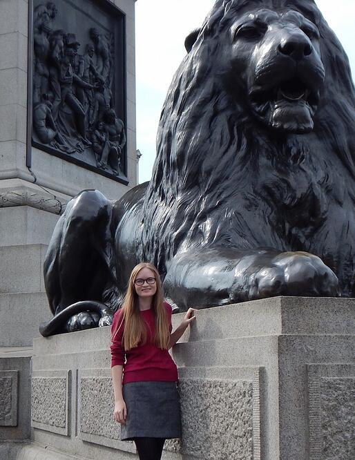 CAPAStudyAbroad_London_Fall2014_Emily McGeary Trafalgar Square