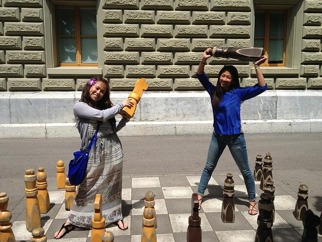 CAPAStudyAbroad_Florence_Dee Liang - Go big or go home -- human-sized chess in Berne, Switzerland