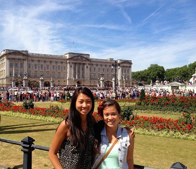 CAPAStudyAbroad_Florence_Dee Liang at Buckingham Palace, London