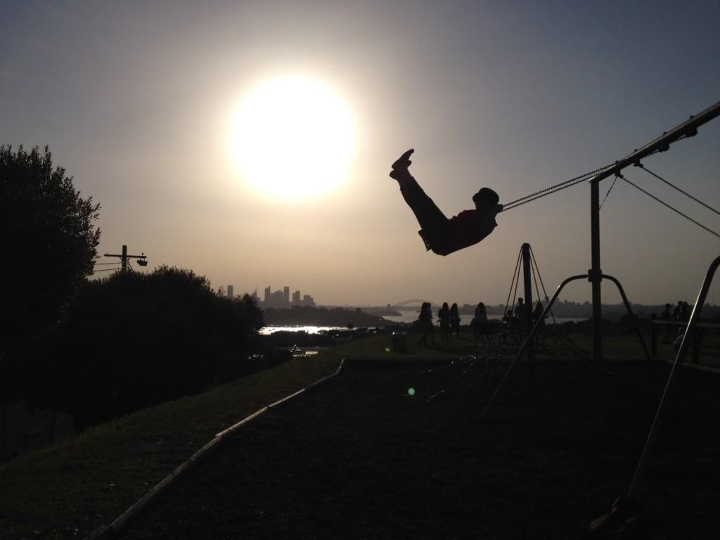 CAPAStudyAbroad_Sydney_Kiaya Heise - Sunset Swing Sydney