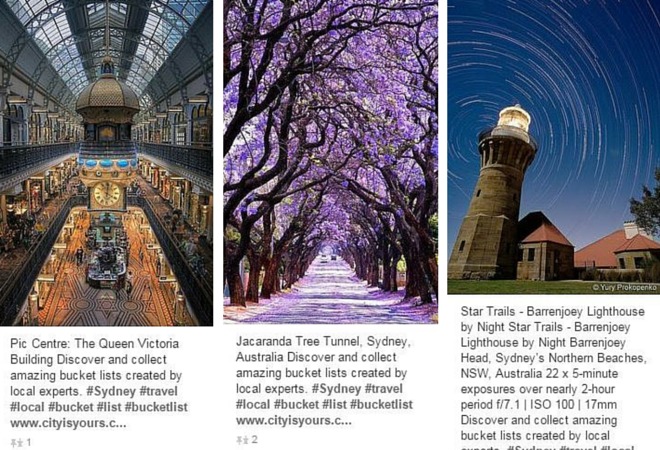 Sydney Pinterest study abroad