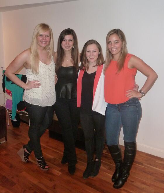 CAPAStudyAbroad_London_Spring_2014_Alumna_Cassie_Naes_night_out_in_London