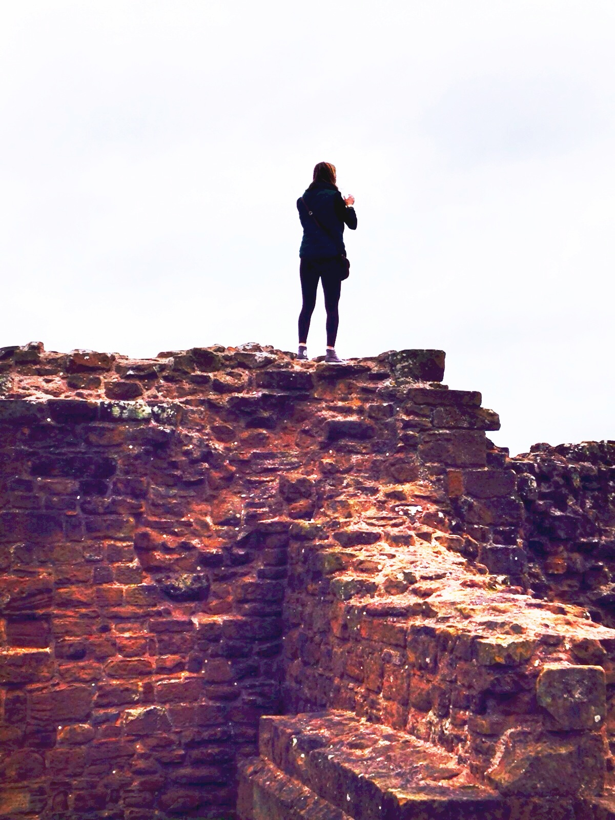 CAPAStudyAbroad_London_Spring2014_Sophia_Love_at_Kenilworth_Castle