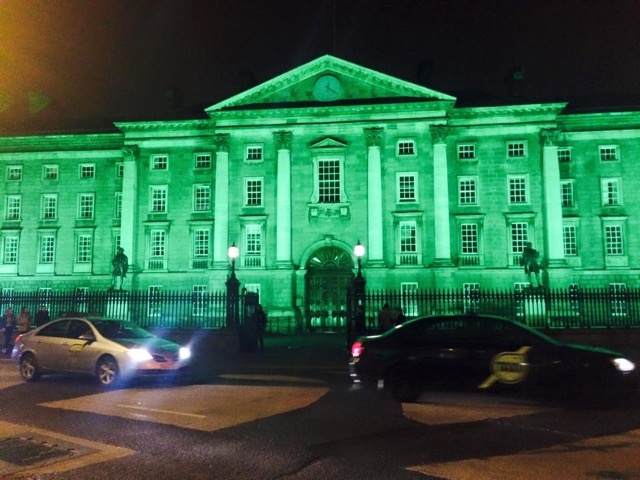 CAPAStudyAbroad_Dublin_Spring2015_FromLilyLieberman-St.PatricksDay1