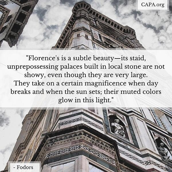 50 Perfect Quotes About Florence
