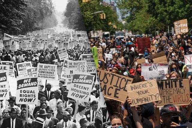 1960 Civil Rights Movement Compared to Black Lives Matter Movement