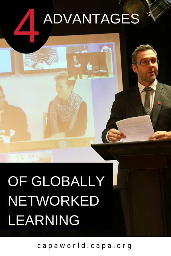4 Advantages of Globally Networked Learning Title Graphic