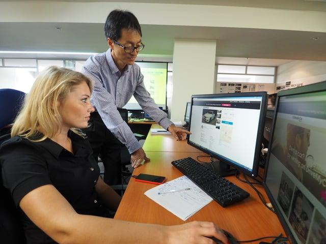 Internship photo from Kristina Worm by DriveMyCar3