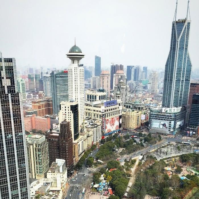9_24_CAPA_Instagram_Shanghai_Greg Peterson_Image from Skysracper of Downtown Shanghai