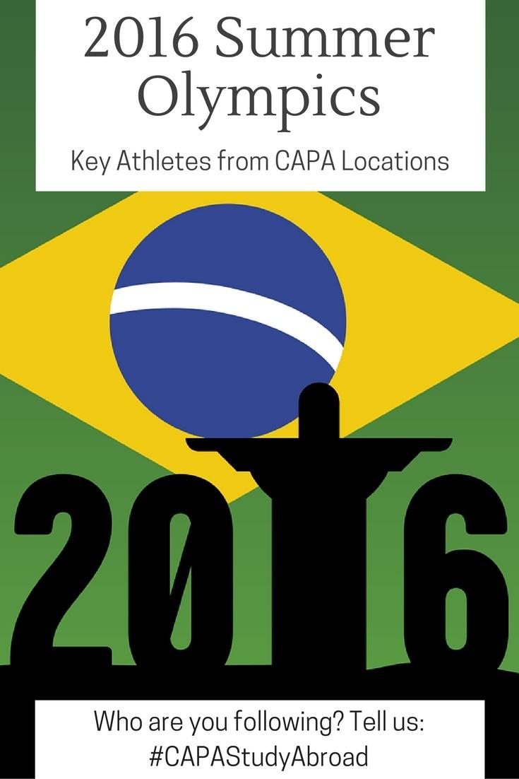 2016 Summer Olympics: Athletes from CAPA Locations