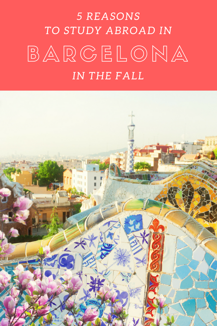 5 Reasons to Study Abroad in Barcelona in the Fall
