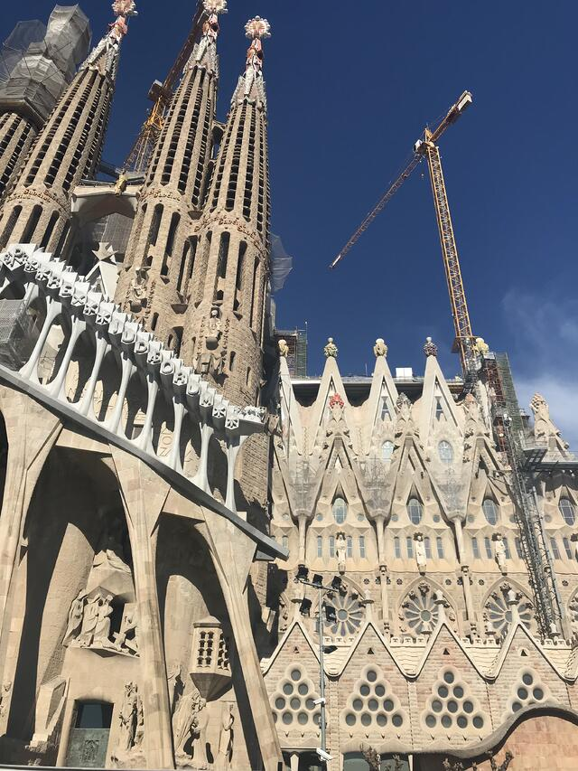 La Sagrada Familia in Progress