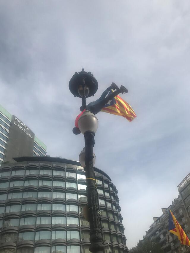 Scenes from the National Day of Catalonia