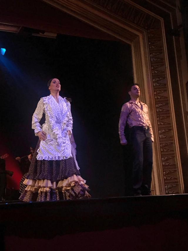 Flamenco Dancers at Dinner Show