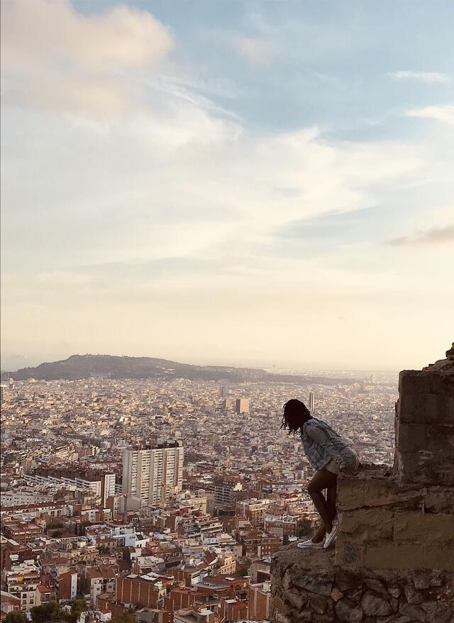 Looking Over Barcelona from the Bunkers