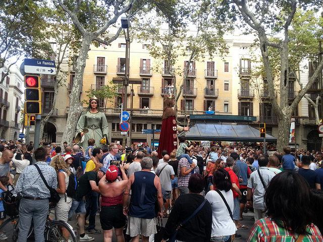 La Mercè Festival Barcelona, 2015 by Azchael