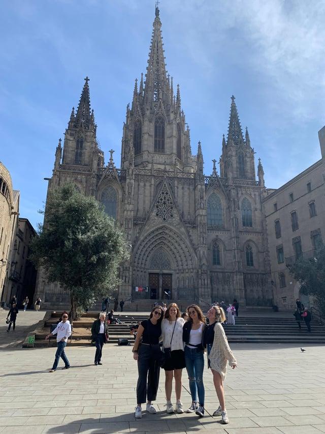 CAPAStudyAbroad_Spring 2020_Barcelona_Nina Vrtjak_Barcelona Cathedral