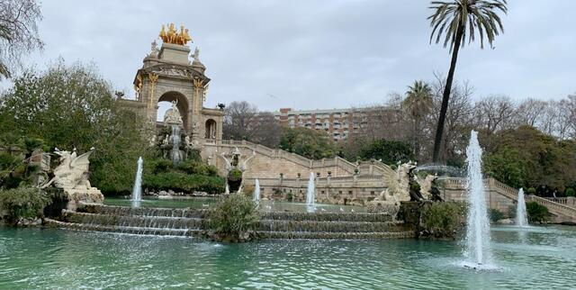 Parc de la Ciutadella in the Born Neighborhood