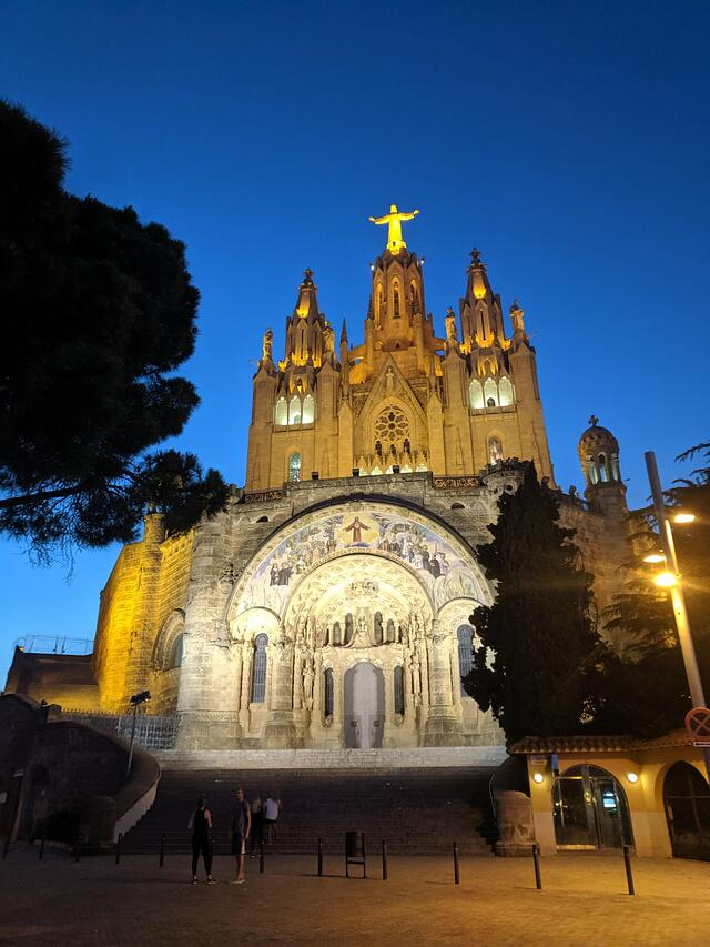 Tibidabo At Night