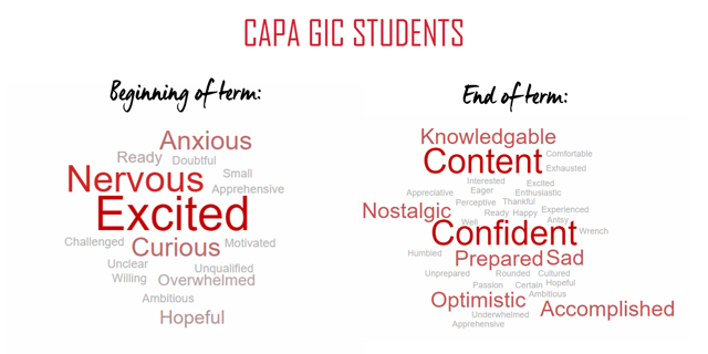 Before & After Word Clouds