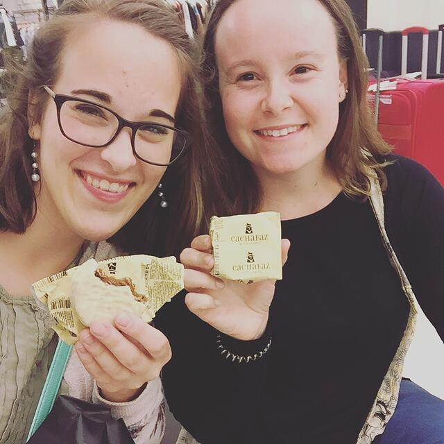 CAPAStudyAbroad_Buenos Aires_Spring2018_From Claire Shrader - Alfajores with a Friend