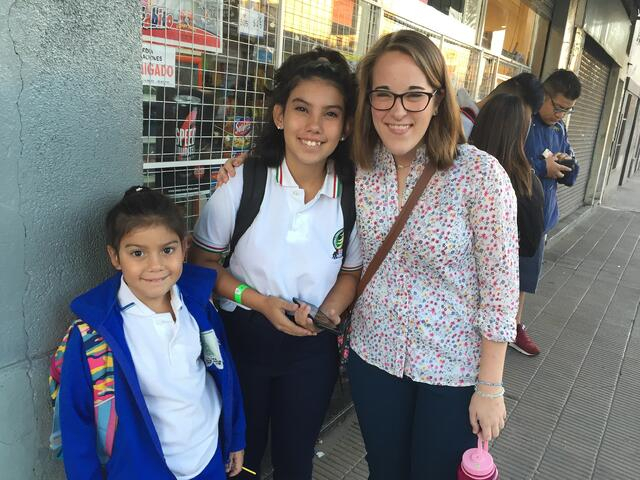 CAPAStudyAbroad_Buenos Aires_Spring2018_From Claire Shrader - Headed Out on First Day of Internship.jpeg