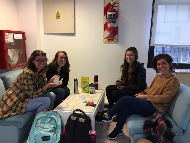 CAPAStudyAbroad_Buenos Aires_Spring2018_From Claire Shrader - Mate on Tuesdays