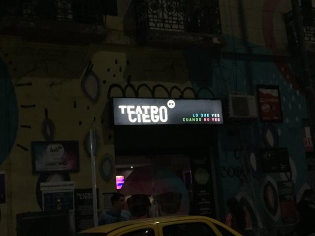 CAPAStudyAbroad_Buenos Aires_Spring2018_From Claire Shrader - Teatro Ciego in Abasto