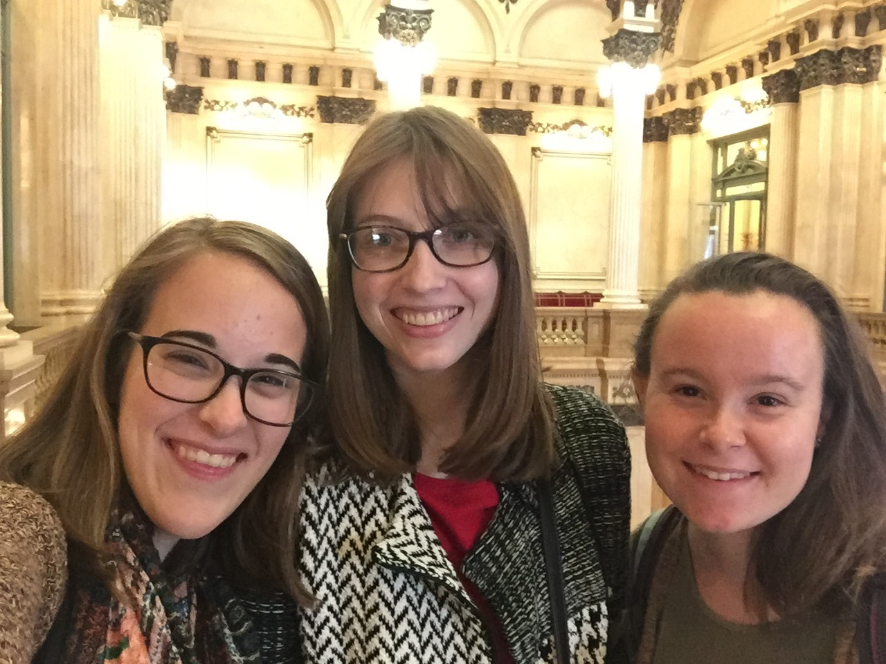 CAPAStudyAbroad_Buenos Aires_Spring2018_From Claire Shrader - Visiting Teatro Colon with Friends