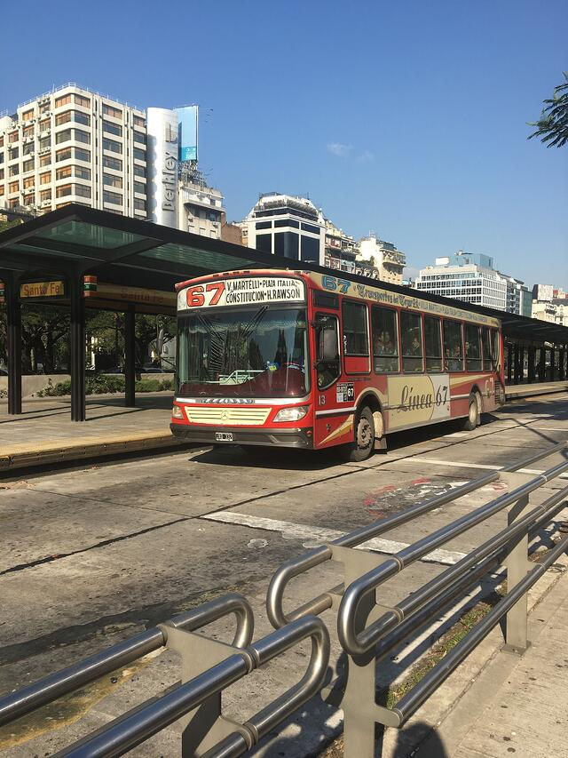 CAPAStudyAbroad_Buenos Aires_Summer 2018_From Nora Callahan - Bus Transportation (Colectivos)