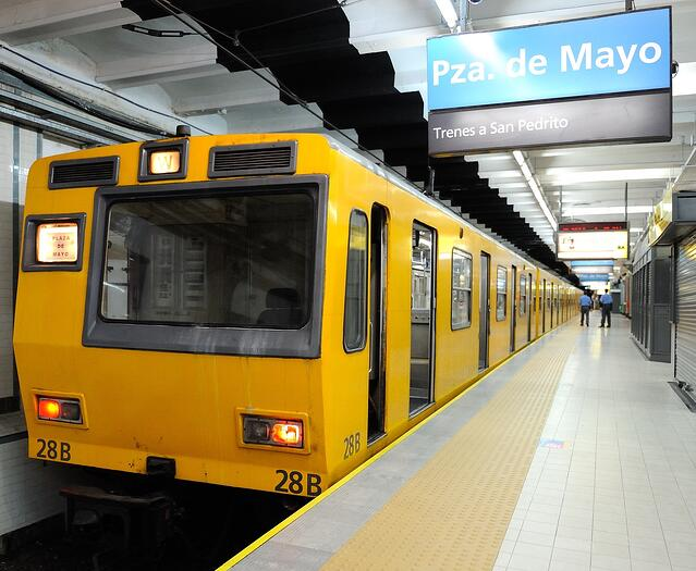 CAPAStudyAbroad_Buenos Aires_Summer 2018_From Nora Callahan - Subway (Subte) Train and Stop