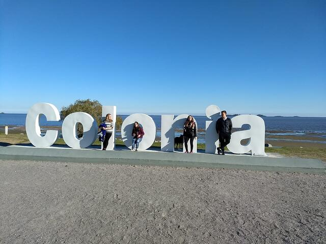 CAPAStudyAbroad_Buenos Aires_Summer2018_From Nora Callahan - A Photo with Friends at the Colonia Sign