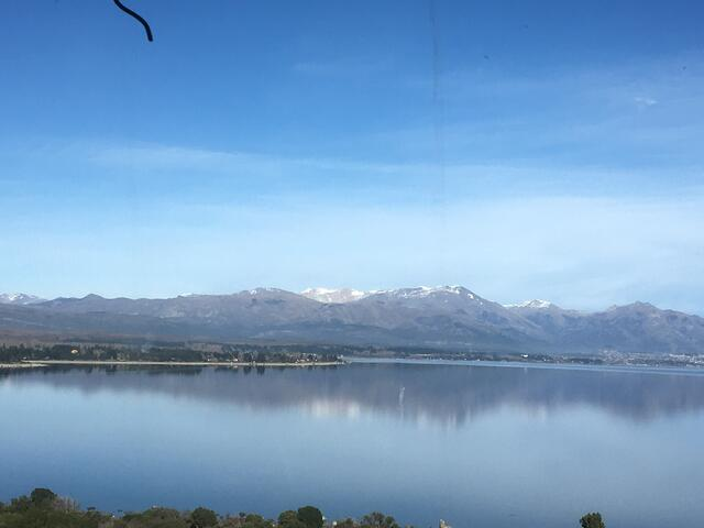 A View of Bariloche in Patagonia