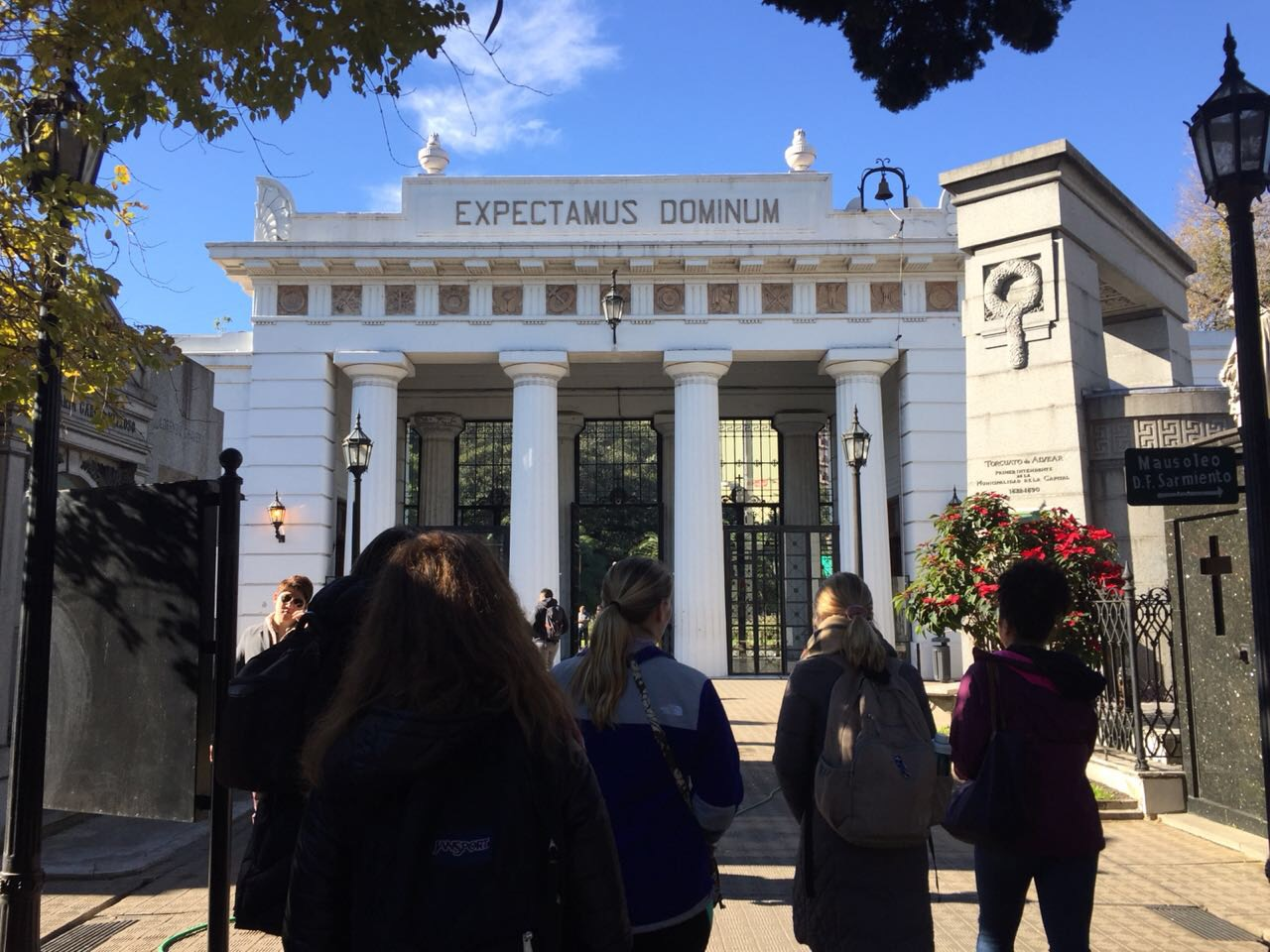 CAPAStudyAbroad_Buenos Aires_Summer2018_From Nora Callahan - Global Cities Class Tour of Recoleta Cemetary