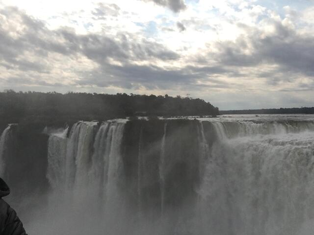 Top of Iguazu Falls