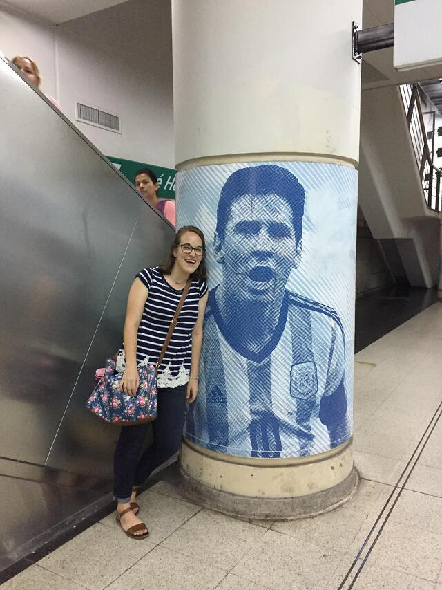 CAPAStudyAbroad_Spring2018_Buenos Aires_Claire Shrader_me and messi