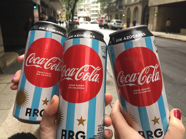 CAPAStudyAbroad_Spring2018_Buenos Aires_Claire Shrader_Cokes from the World Cup
