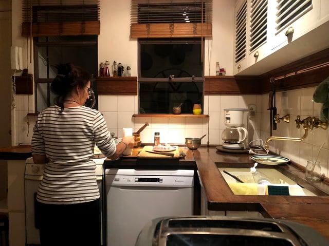 Mariana Preparing Dessert