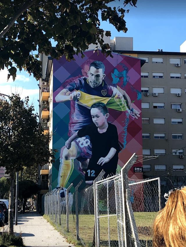 Soccer Mural Street Art