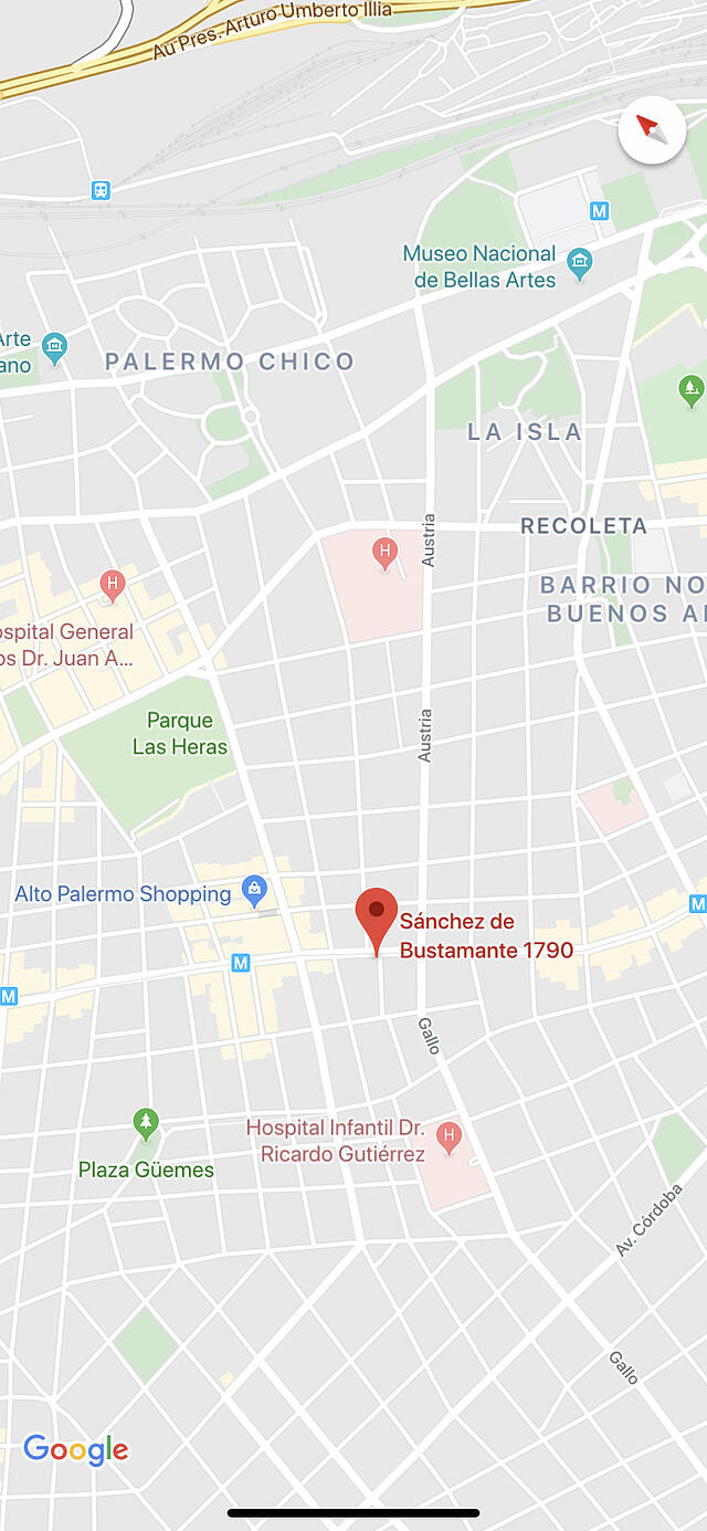 CAPAStudyAbroad_Summer2019_Buenos Aires_Ben Gunduz_GoogleMaps
