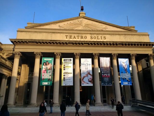 Uruguay Teatro Solis