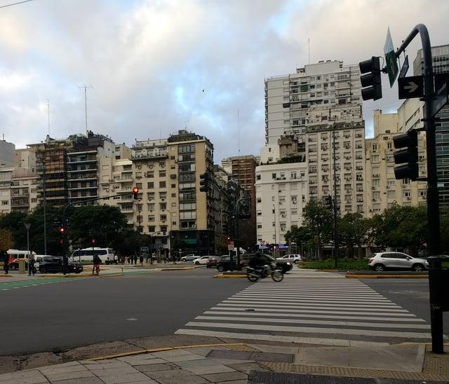 9 de Julio Widest Ave in the World