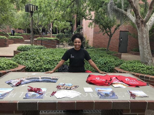 CAPA-Ambassador_Arielle-McConneaughy_Spring2018_Tabling