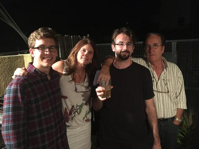 CAPAStudyAbroad_BuenosAires_Spring2016_-_From_Tommy_Sullivan_-_Johannes_and_I_were_invited_to_Benjas_going_away_party._Here_we_are_with_our_host_parents..jpg