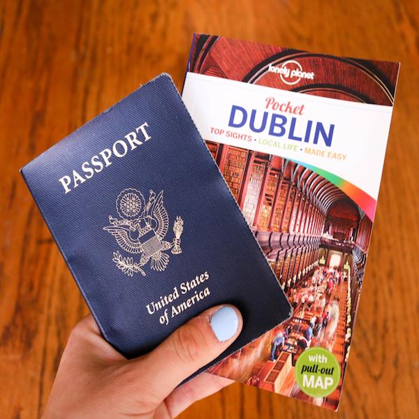 Passport and Dublin book