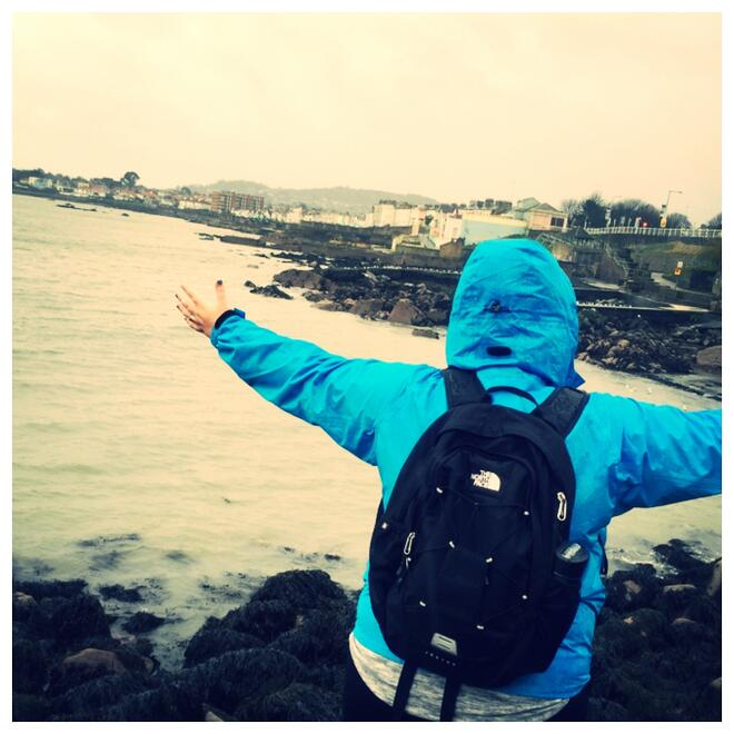 CAPAStudyAbroad_Dublin_Spring2016_From_Nicole_Taylor_-_Budgeting_Post_-_Me_facing_Dun_Laoghaire_shore.jpg