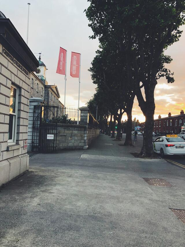 CAPAStudyAbroad_Fall 2019_Dublin_Ellie LaFountain_GriffithCollegeexterior