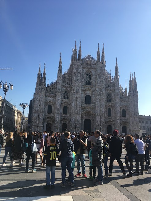 CAPAStudyAbroad_Fall 2019_London_Anna Chichester_ Picture of Milan Duomo from student travels