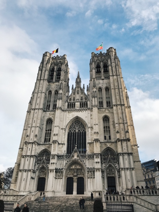CAPAStudyAbroad_Fall2017_Dublin_From Elizabeth Leahy - Fall Break_St. Michael and St. Gudula Cathedral in Belgium.png